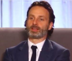 Andrew Lincoln parle de la saison 4 de Walking Dead avec TVLine