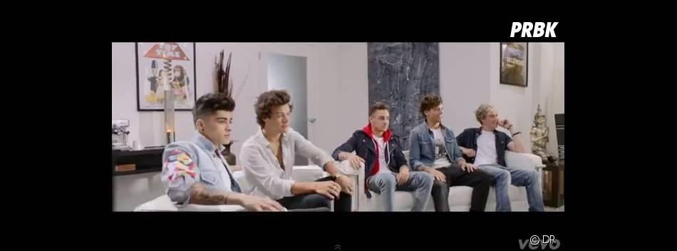 One Direction dans le clip de Best Song Ever