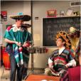 Cory Monteith et Kevin McHale dans la saison 3 de Glee