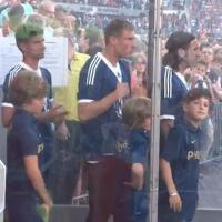 Franck Ribéry complexé par sa taille ? Les enfants, ok, mais que les petits !