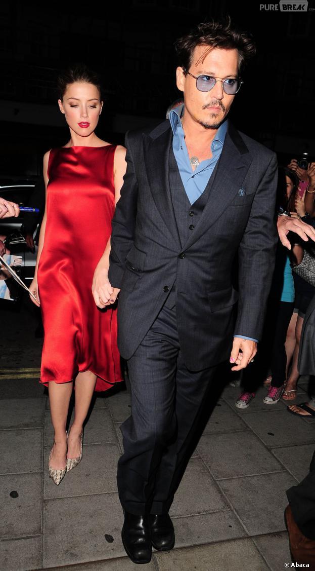 Johnny Depp : Amber Heard parle presque de leur relation