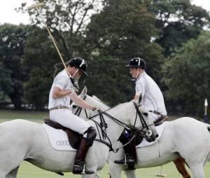 Prince William et Prince Harry, le 3 août 2013 à Ascot