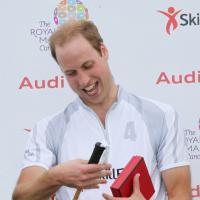 Prince William : match de polo et confidences sur bébé George