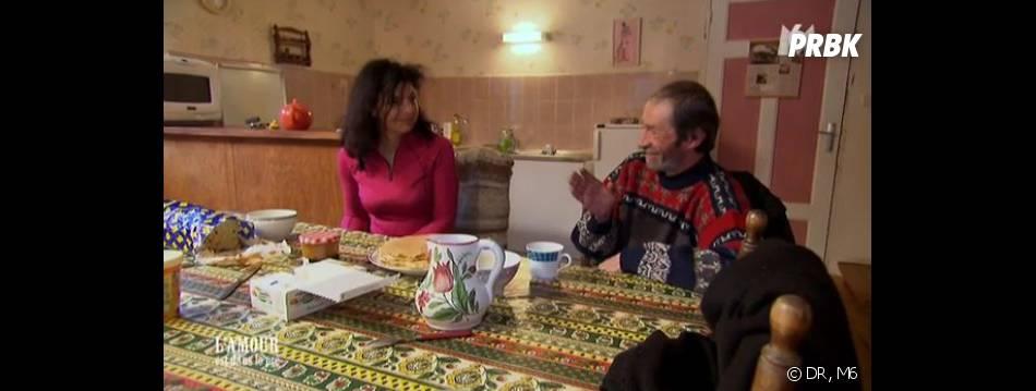 L'amour est dans le pré 2013 : Jean-Louis de bonne humeur avec ses prétendantes.