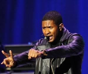 Usher au chevet de son fils de 5 ans après un accident domestique.