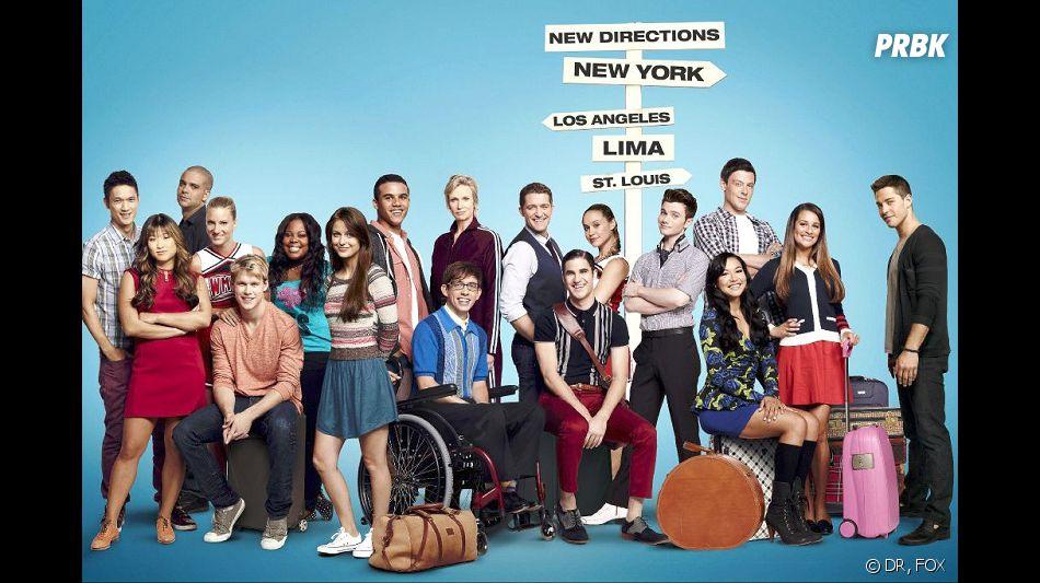 Glee saison 5 : le tournage a repris après le décès de Cory Monteith