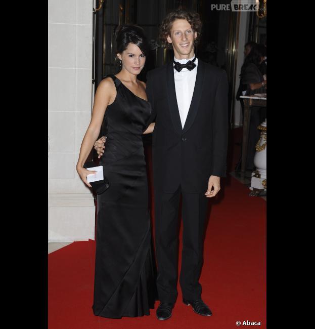 Marion Jollès et Romain Grosjean sont parents depuis le 29 juillet 2013