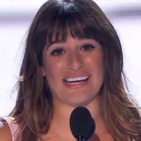 Lea Michele : hommage émouvant à Cory Monteith aux Teen Choice Awards 2013