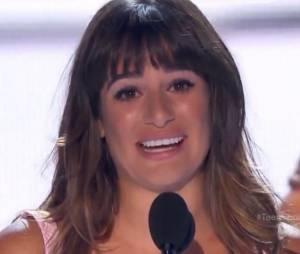 Lean Michele émue aux Teen Choice Awards 2013