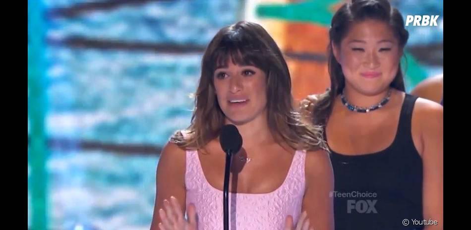 Lea Michele a dédié son discours à Cory Monteith aux Teen Choice Awards 2013