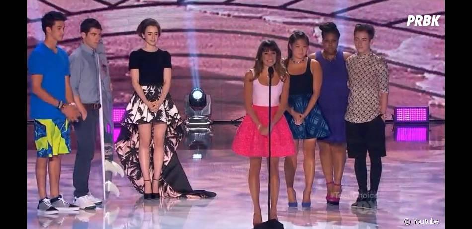 """Lea Michele a remporté le prix de la """"Meilleure actrice dans une série comique"""" aux Teen Choice Awards 2013"""