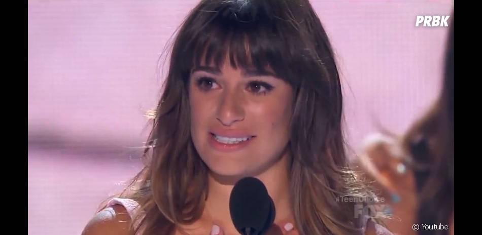 Lea Michele aux Teen Choice Awards 2013 le 11 août 2013