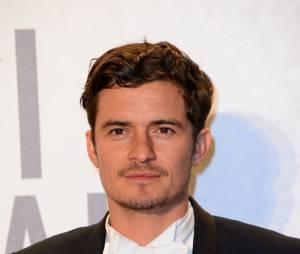 Orlando Bloom pendant le festival de Cannes 2013