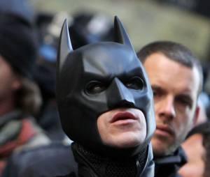 Christian Bale sur le tournage de The Dark Knight Rises