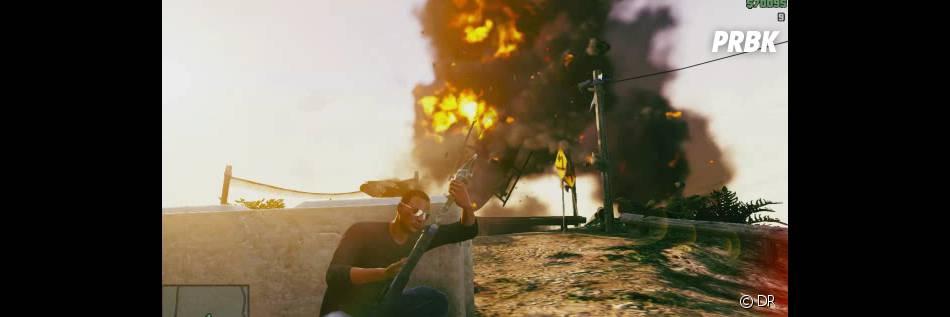 GTA 5 : un trailer explosif