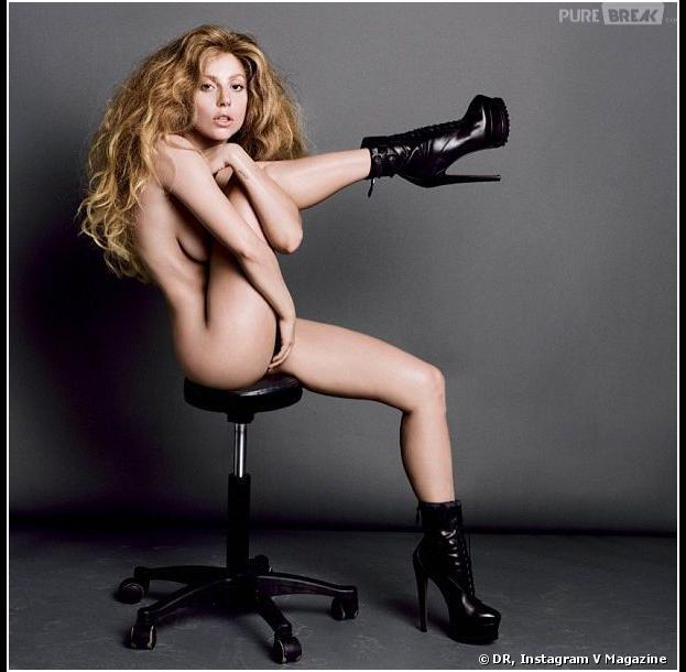 Lady Gaga nue V Magazine : dans les kiosques le 29 août 2013