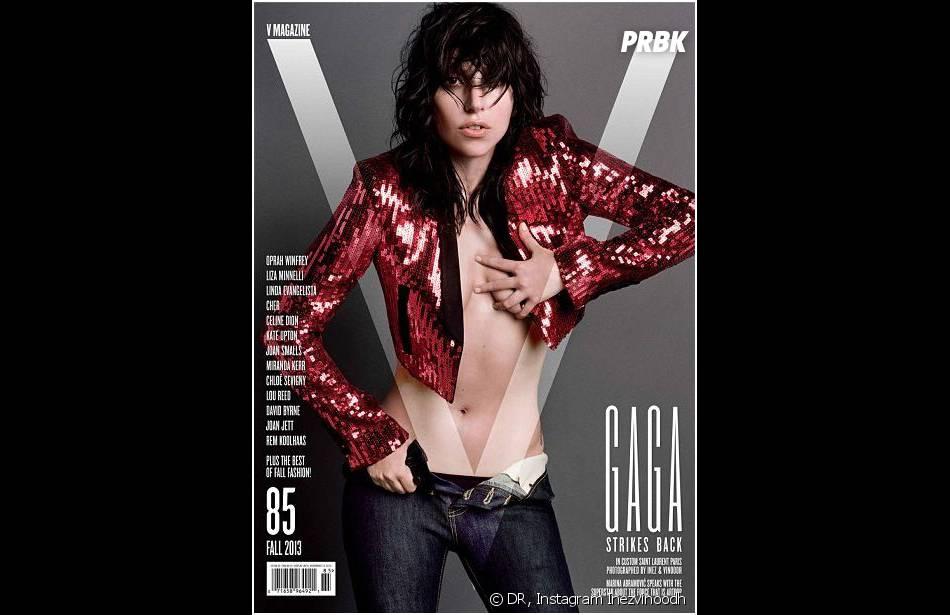 Lady Gaga, star du numéro de rentrée 2013 de V Magazine