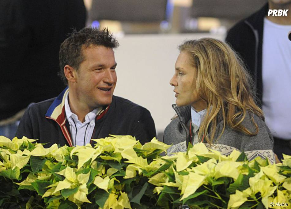 Benjamin Castaldi et sa femme Vanessa Broussouloux, complices quelques mois après leur mariage en 2011
