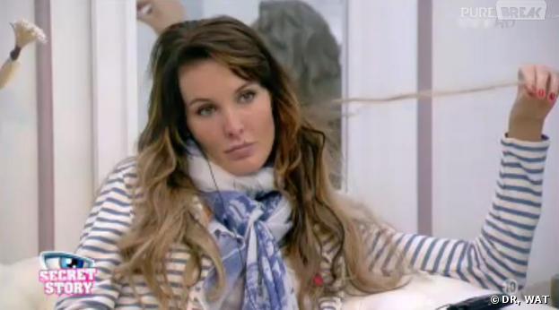 Secret Story 7 : Marie Garet tient la chandelle dans la Maison des secrets.