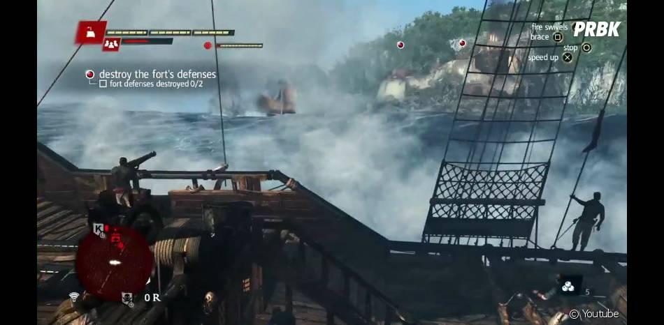Assassin's Creed 4 Black Flag : les batailles navales seront nombreuses