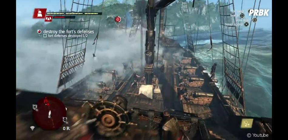 Assassin's Creed 4 Black Flag : Jackdaw, le bateau d'Edward Kenway