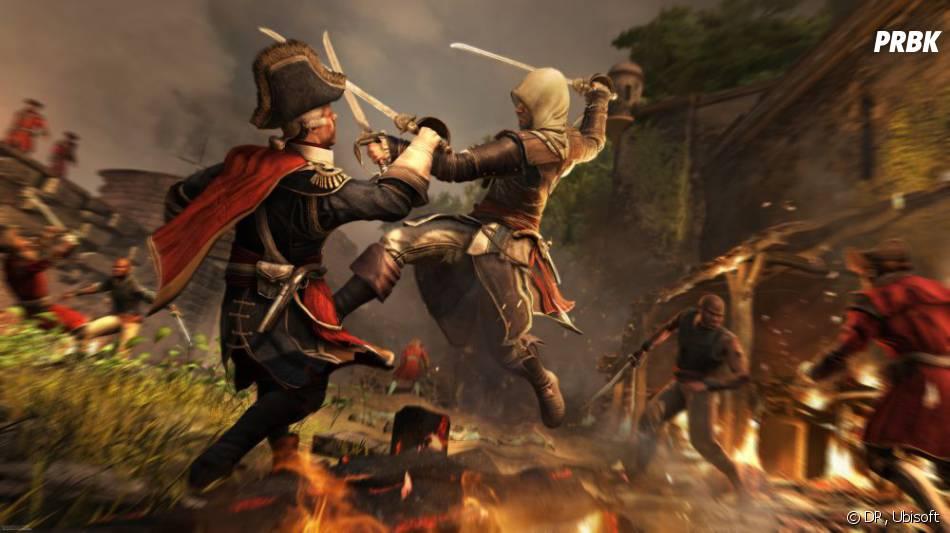 Assassin's Creed 4 Black Flag met en scène Edward Kenway