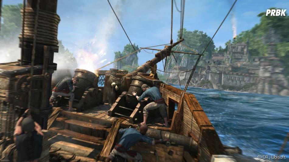 Assassin's Creed 4Black Flag : la bataille navale sera à nouveau à l'honneur