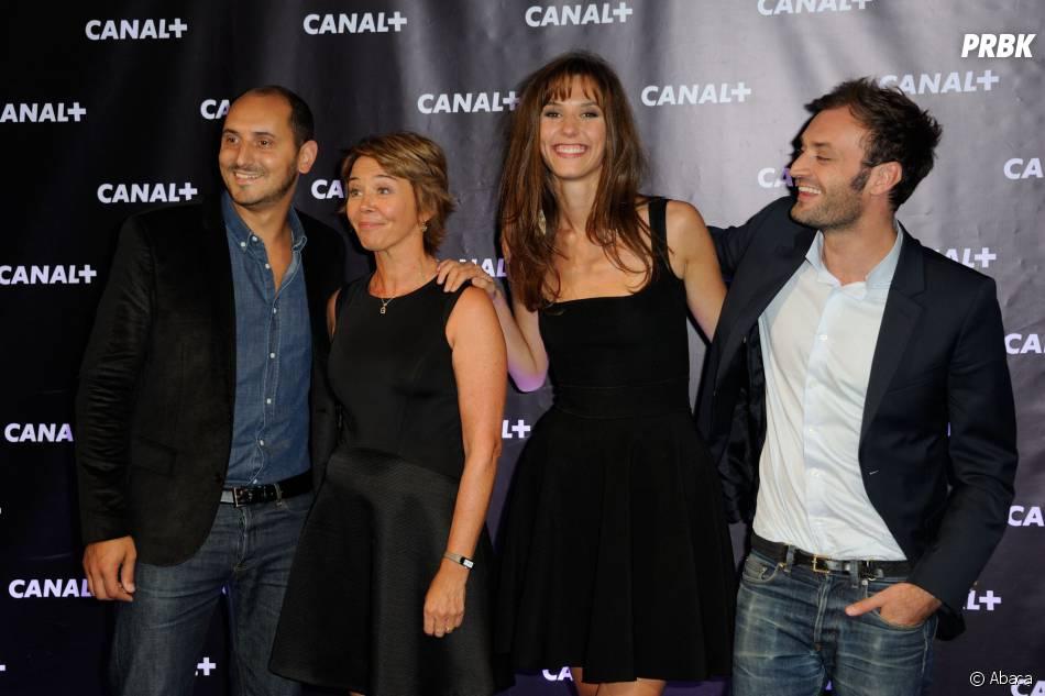 Doria Tillier le 28 août 2013 au centre culturel Electric à Paris à l'occasion de la rentrée de Canal+
