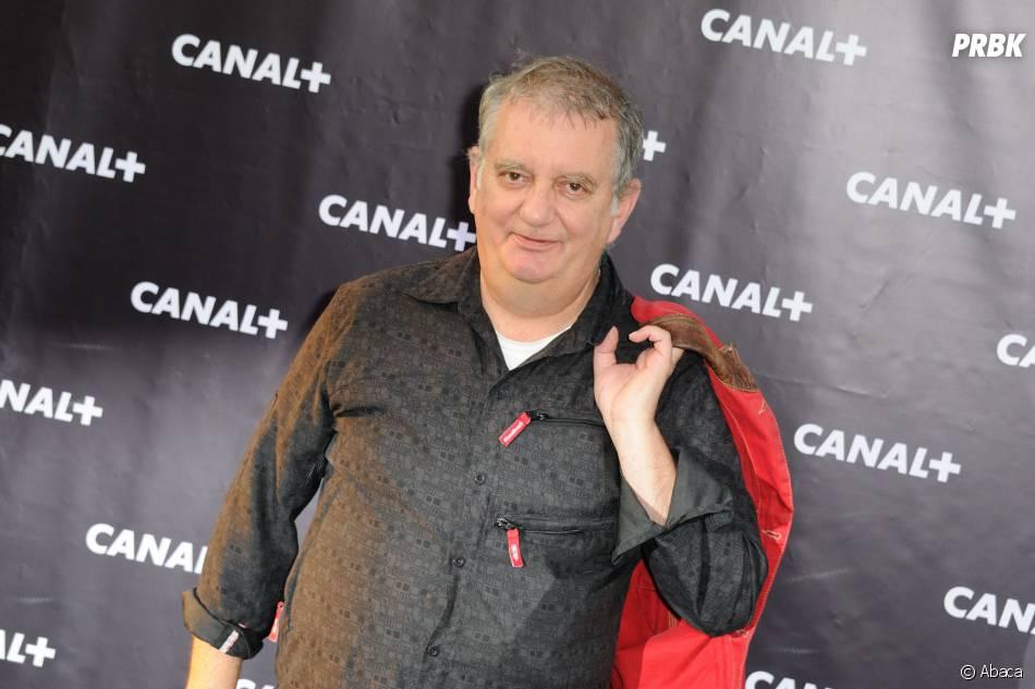 Jules Edouard Moustic le 28 août 2013 au centre culturel Electric à Paris à l'occasion de la rentrée de Canal+