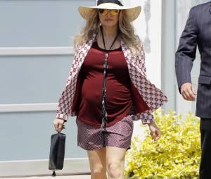 Fergie de sortie avant son accouchement
