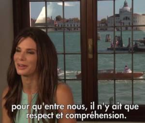 Sandra Bullock fait taire les rumeurs sur son rapprochement avec George Clooney.