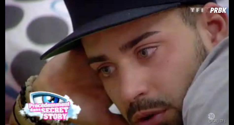 Secret Story 7 : Vincent pleure encore.