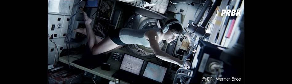 Gravity : Sandra Bullock entre dans l'espace