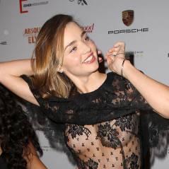 Miranda Kerr : ses tétons stars d'un tapis rouge