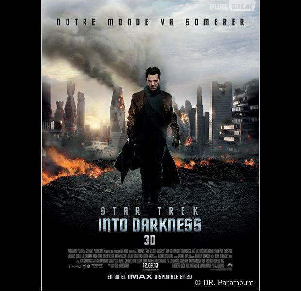 """"""" Star Trek Into Darkness """", l'affiche"""
