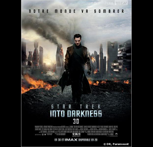 """Star Trek Into Darkness"", l'affiche"