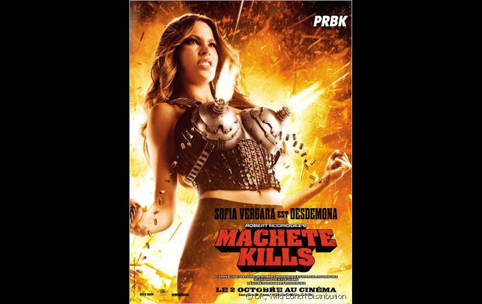 Machete Kills : Sofia Vergara a une drôle de poitrine...