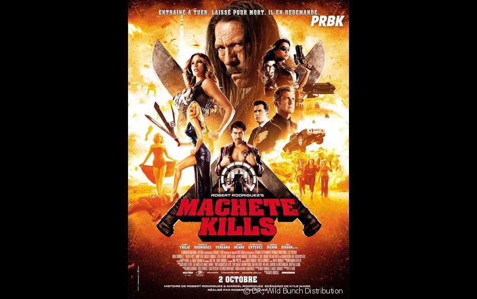 Machete Kills : l'affiche officielle du film