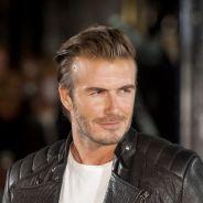 David Beckham : biker sexy pour la Fashion Week de Londres