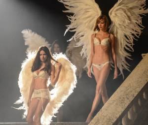 Victoria's Secret : shooting nocturne à Paris, le 18 septembre 2013