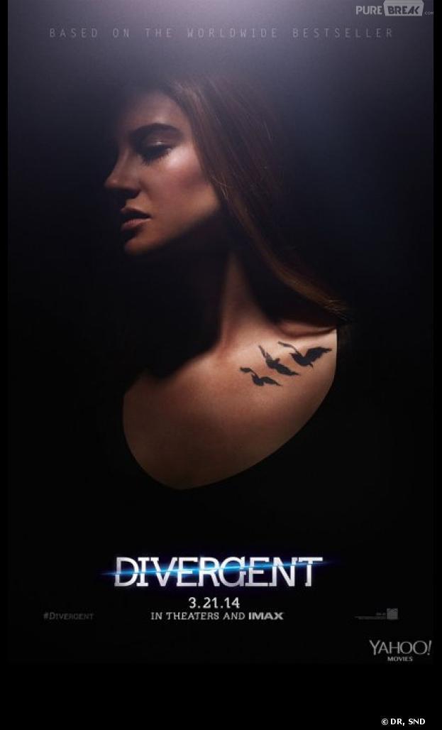 Divergent : poster avec Shailene Woodley