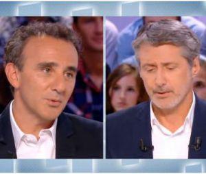 Elie Semoun et Antoine de Caunes : faux échange tendu dans Le Grand Journal.