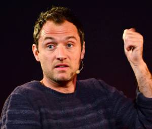 Jude Law à Londres, le 27 février 2013