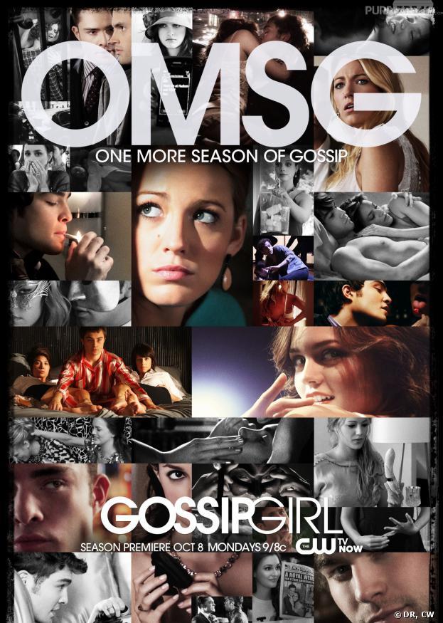 Gossip Girl saison 6 : début de la diffusion mercredi 25 septembre 2013 sur TF6