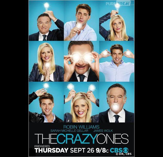 The Crazy Ones saison 1 débarque ce jeudi 26 septembre