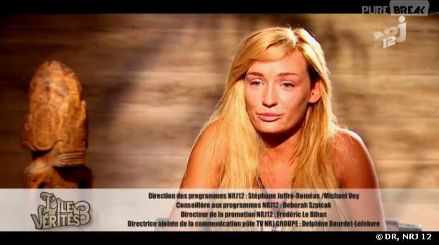 L'île des vérités 3 : Alice en larmes après avoir découvert sa vérité