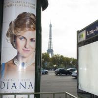 Diana - l'affiche devant le Pont de l'Alma : malaise et bad buzz