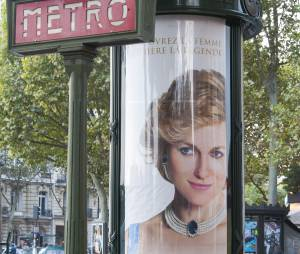 Diana : affiche polémique près du Pont de l'Alma
