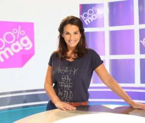 Faustine Bollaert reprend les commandes de 100% Mag ce 7 octobre 2013 sur M6