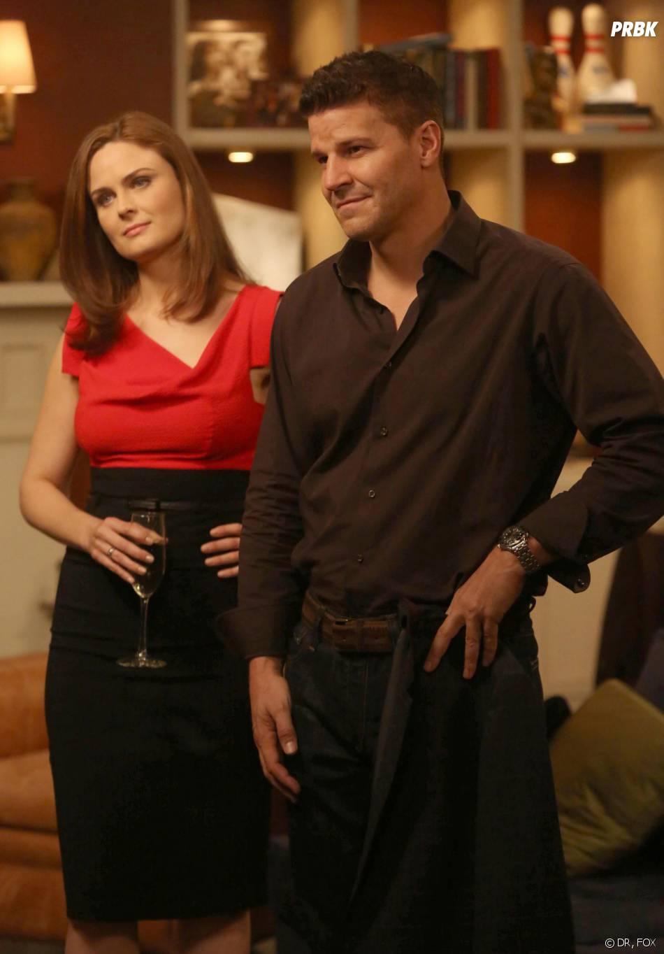 Bones saison 9, épisode 6 : Booth et Brennan avant leur mariage